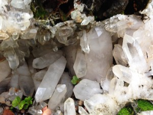 crystal cave close up